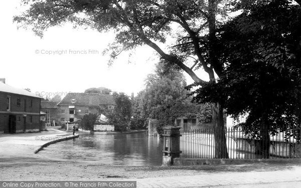 Andover,Town Mill 1908,Hampshire