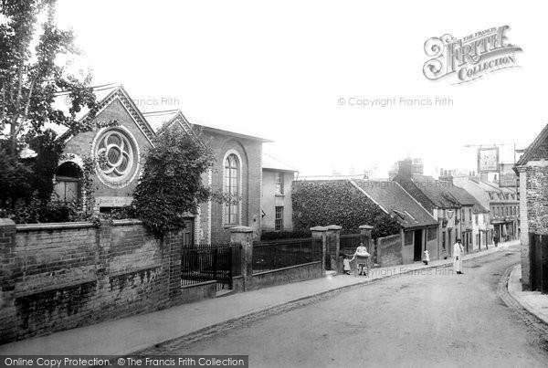 Photo of Andover, Wesleyan Chapel And Sunday School 1904