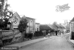 Wesleyan Chapel And Sunday School 1904, Andover