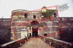 Chateau Main Entrance 1984, Angers