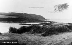 East Blockhouse, Entrance To Harbour c.1955, Angle