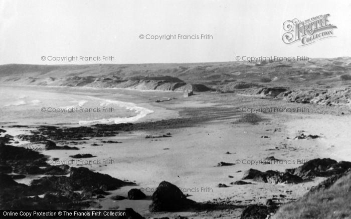 Photo of Angle, Freshwater West c.1955