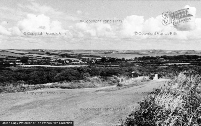 Photo of Angle, General View Of The Village c.1955
