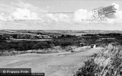 Angle, General View Of The Village c.1955