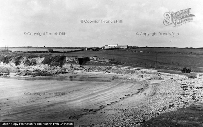 Photo of Angle, Pill Farm Camping Site c.1955