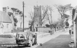 Angle, School And Church c.1955