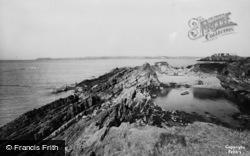 Angle, West Angle Bay c.1955