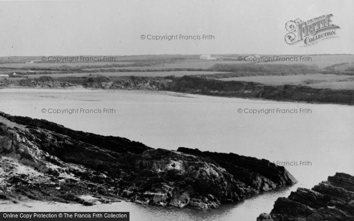 Photo of Angle, West Angle Bay c.1955