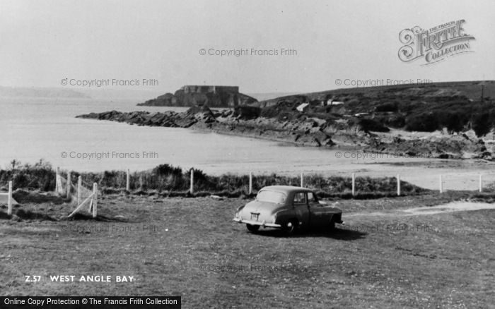 Photo of Angle, West Angle Bay c.1955