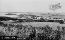 Angle, West Angle Bay Caravan Site c.1960
