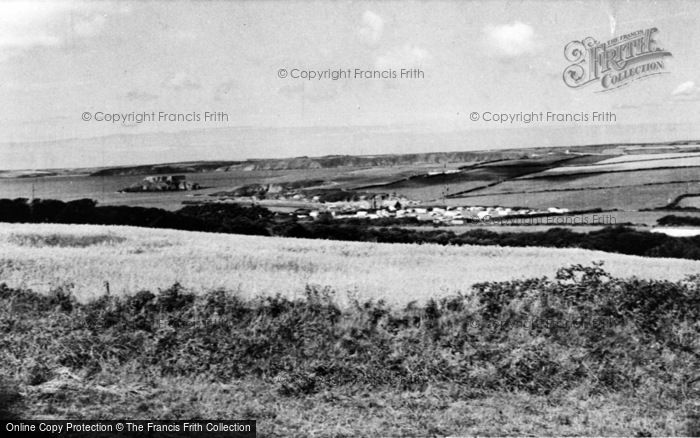 Photo of Angle, West Angle Caravan Site c.1955