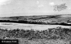 Angle, West Angle Caravan Site c.1955