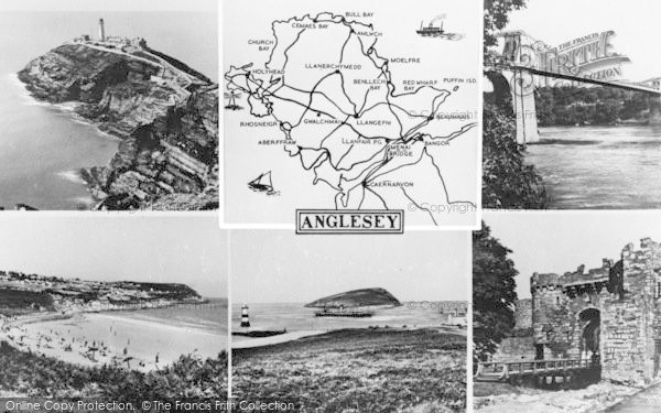 Photo of Anglesey, Composite c.1960