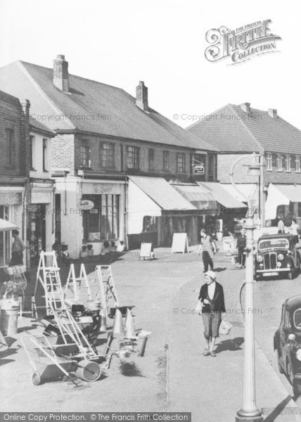 Photo of Angmering On Sea, A Pedestrian In The Village c.1960