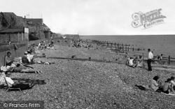 Angmering-on-Sea, Beach c.1960