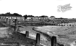 Angmering-on-Sea, Beach Chalets c.1955