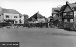 Angmering-on-Sea, Palm Court And South Strand Hotels c.1960