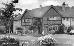 Angmering-on-Sea, Palm Court Hotel c.1955