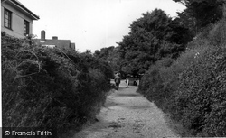 Angmering-on-Sea, Sea Lane c.1955