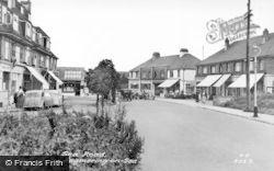Angmering-on-Sea, Sea Road c.1955