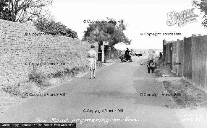 Photo of Angmering On Sea, Sea Road c.1960