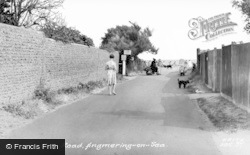 Angmering-on-Sea, Sea Road c.1960