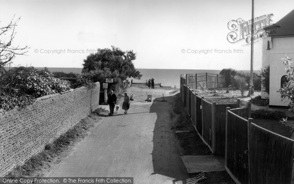 Photo of Angmering On Sea, Sea Road c.1960