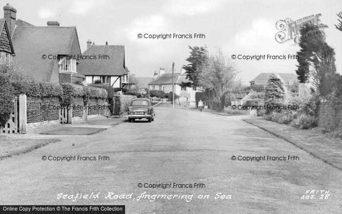 Photo of Angmering On Sea, Seafield Road c.1955