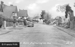 Angmering-on-Sea, Seafield Road c.1955