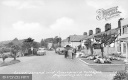 Angmering-on-Sea, South Strand And Coastguard Cottages c.1955
