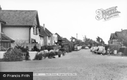 Angmering-on-Sea, South Strand c.1960