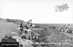 Angmering-on-Sea, The Beach c.1955