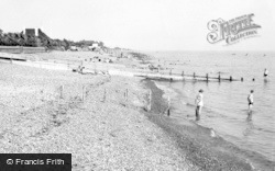 Angmering-on-Sea, The Beach c.1955