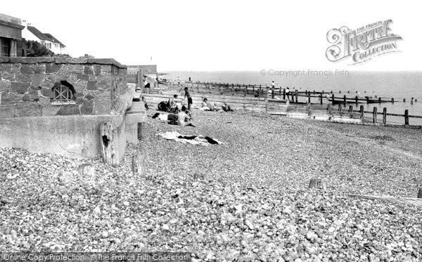 Photo of Angmering On Sea, The Beach c.1960
