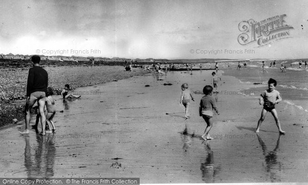 Photo of Angmering On Sea, The Beach c.1960