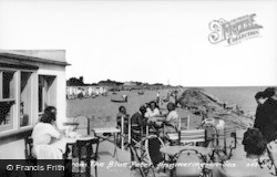 Angmering-on-Sea, The Beach From The Blue Peter c.1955
