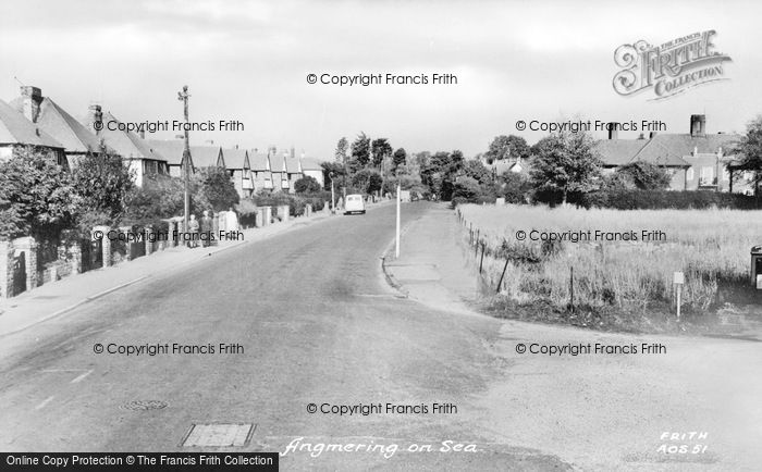 Photo of Angmering On Sea, The Village c.1960