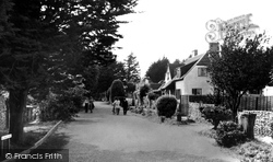 Angmering-on-Sea, Willowhayne Avenue c.1955