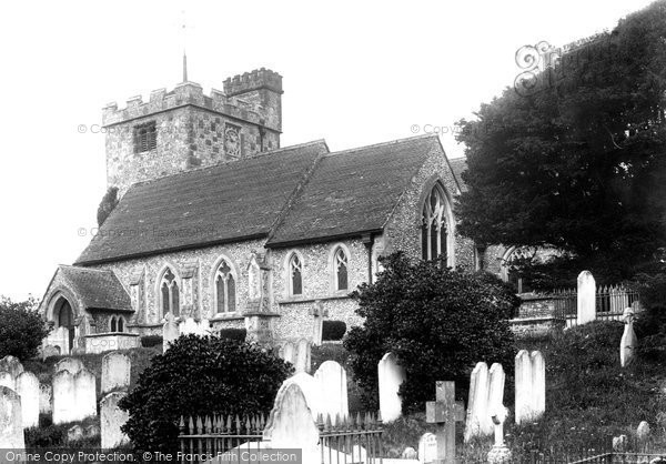 Angmering, St Margaret's Church 1899