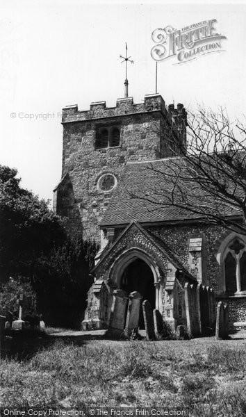 Angmering, St Margaret's Church c.1960