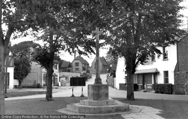 Photo of Angmering, The Village Green c.1955
