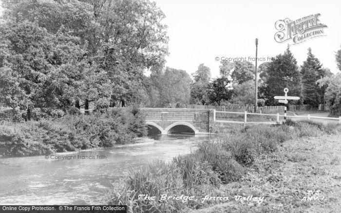 Photo of Anna Valley, The Bridge c.1955