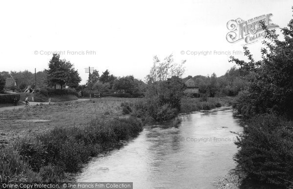 Photo of Anna Valley, The River c.1955