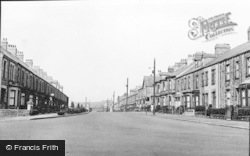 Annfield Plain, Durham Road c.1955