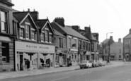 Annfield Plain, Front Street Shops c.1955