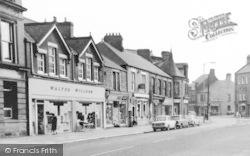 Front Street Shops c.1965, Annfield Plain