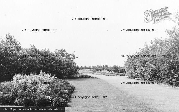 Photo of Annfield Plain, Park Entrance c.1955