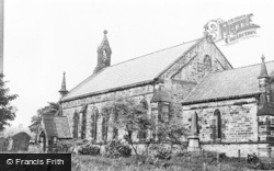 Annfield Plain, St Thomas's Church c.1950