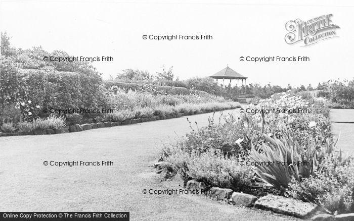 Photo of Annfield Plain, The Park c.1955