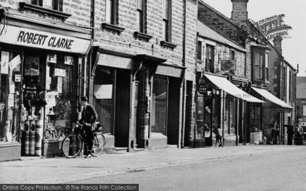 Photo of Annfield Plain, West Road Shops c.1955